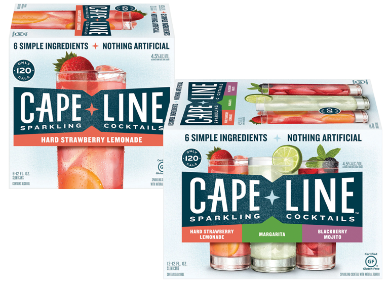 Cape Line Sparkling Cocktails is new from MillerCoors and in our stores now!