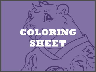 Colby coloring sheet