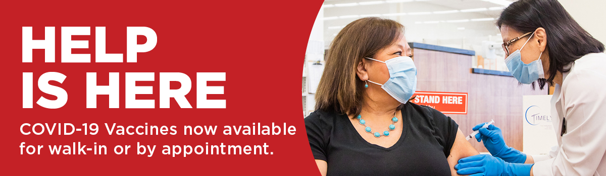 COVID-19 vaccine now available by appointment