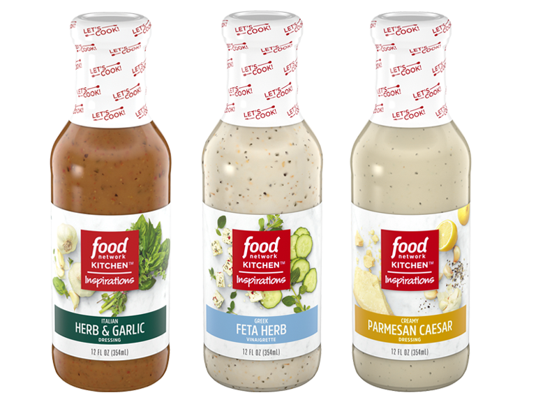 New salad dressings from the Food Network