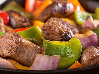 Johnsonville grilled italian sausage