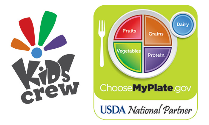 Living Well Kids Crew and MyPlate