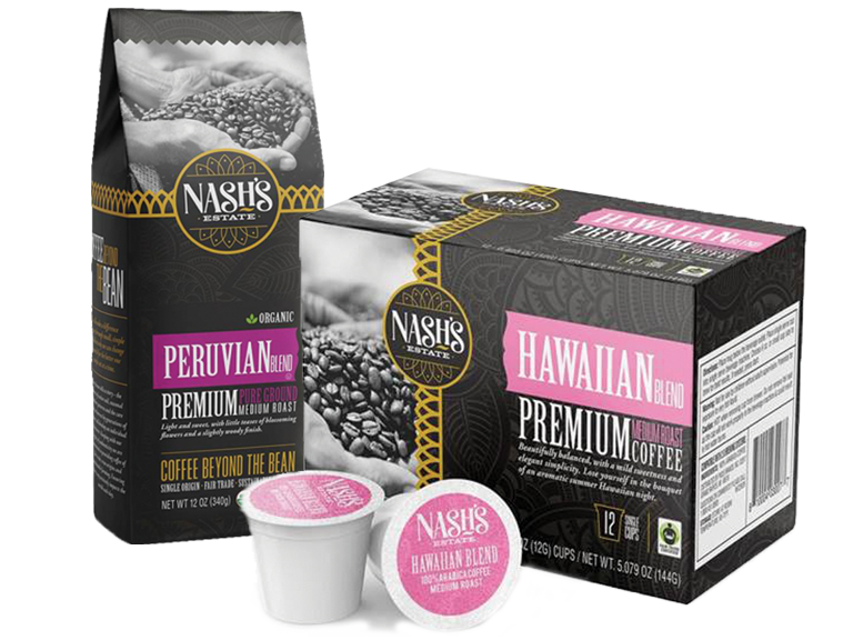 New coffee from Nash