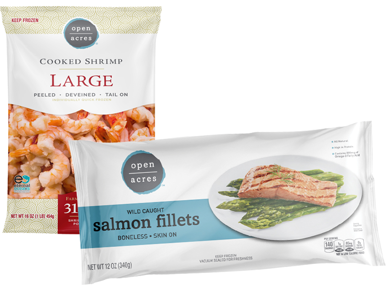 Open Acres Brand Seafood