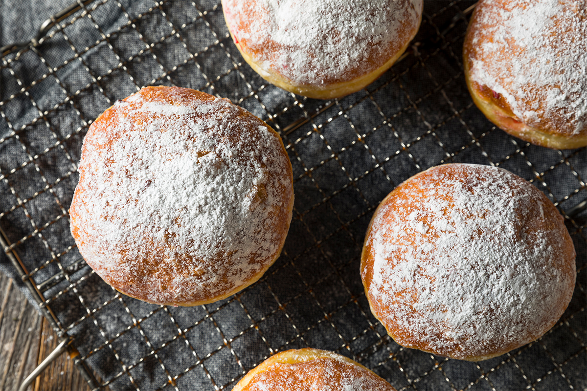 Serving up Paczki for Fat Tuesday! Come get some!