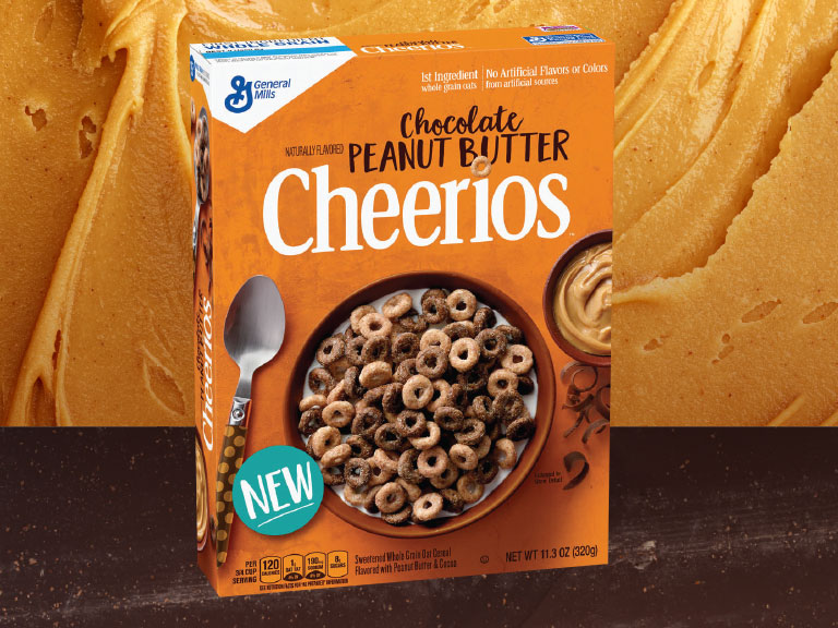 New Flavor from Cheerios - peanut butter and chocolate