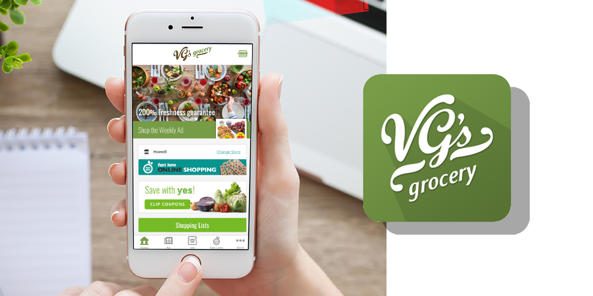 VG's Grocery Mobile App