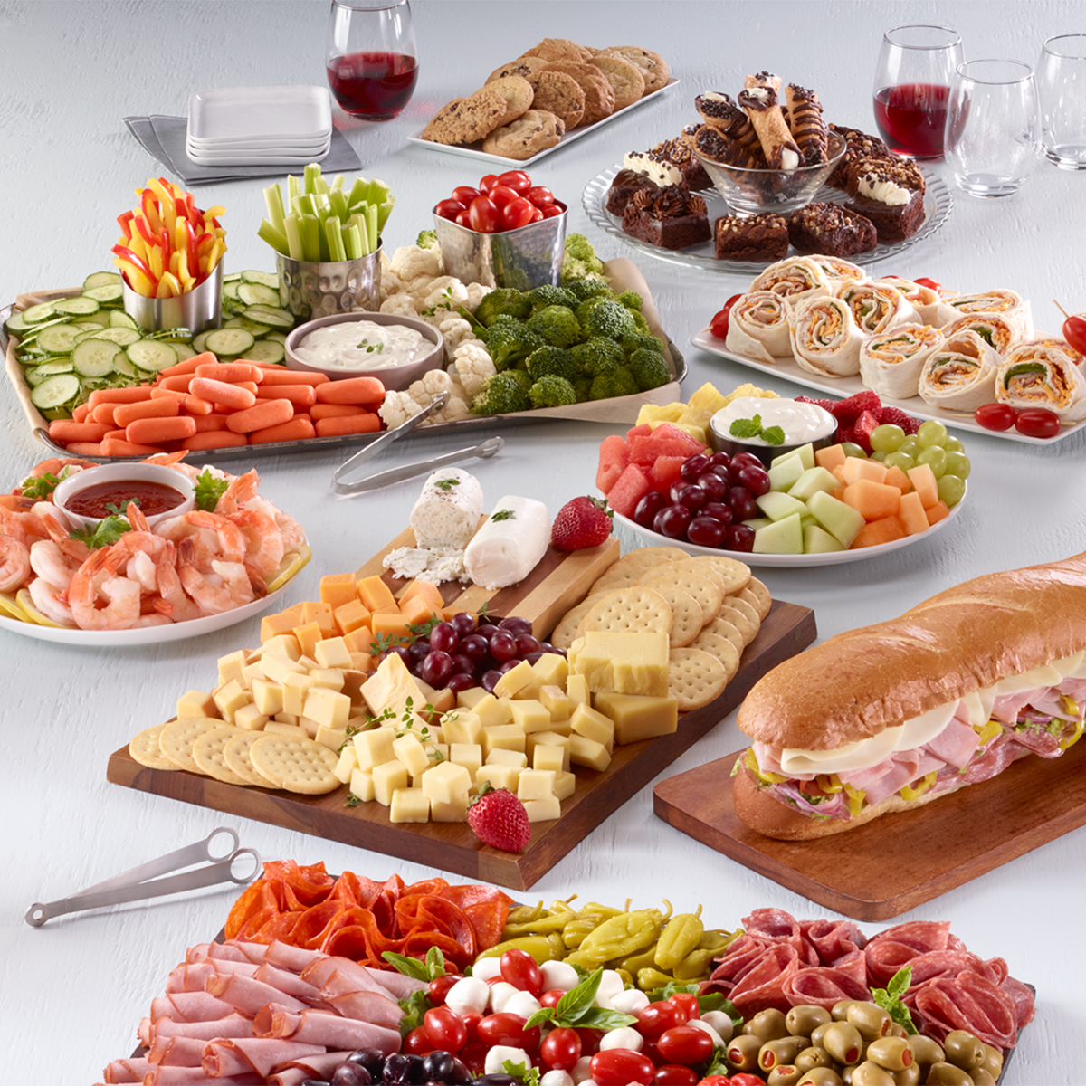 Let us help you make your next party a no-stress success!