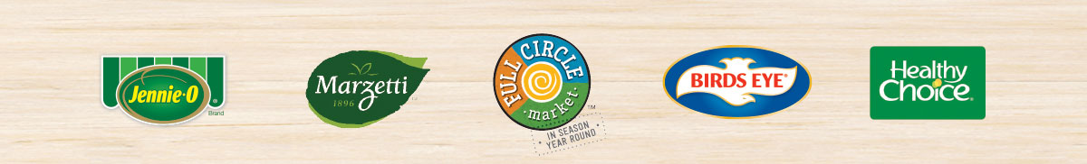 marzetti-dressings-jennie-o-full-circle-birds-eye-and-healthy-choice-logos