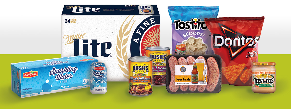Tailgating with Our Family brand and more fine products