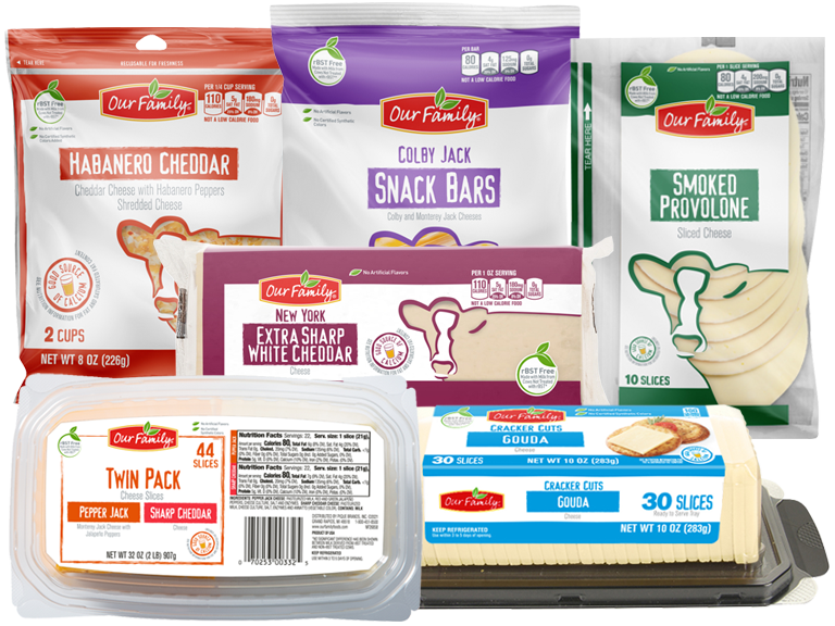 NEW Item! Our Family Brand specialty cheeses
