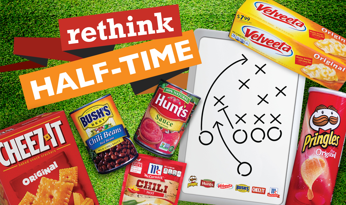 rethink halftime and snack time