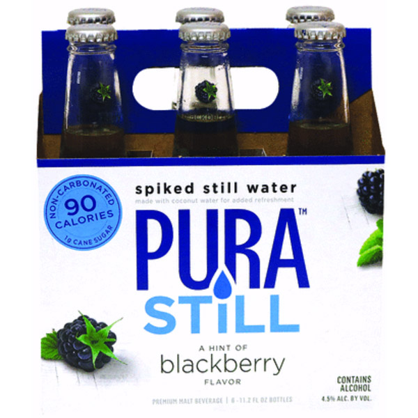 Pura Still Blackberry 6pk btl