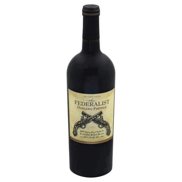 Federalist Dueling Pistols Red Blend 2015