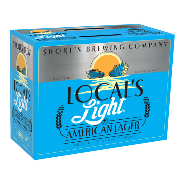 Short's Local's Light 12pk can